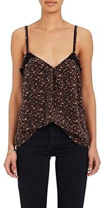 Maison Mayle Women's Carlita Leopard-Print Silk Cami