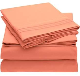 Harmony Sweet Sheets Bed Sheet Set - 1800 Double Brushed Microfiber Bedding - Deep Pocket