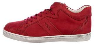 Tod's Girls' Leather Lace-Up Sneakers