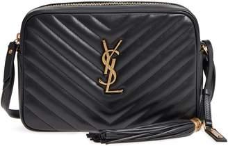 Saint Laurent Medium Lou Calfskin Leather Camera Bag