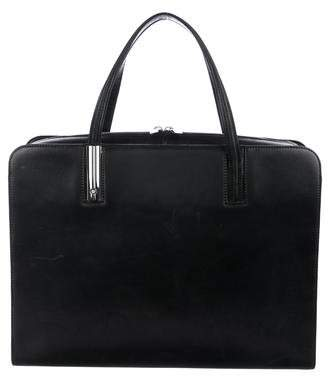 Montblanc Leather Structured Briefcase