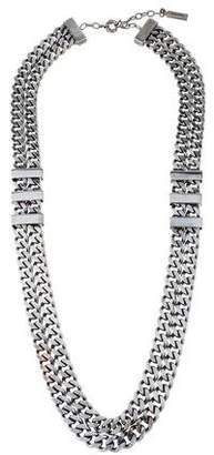 Burberry Double Strand Chain-Link Necklace