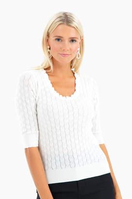 Rebecca Taylor Merino Scoop Pullover