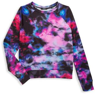 Terez Girl's Blurred Lines Crewneck
