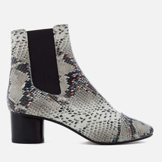 Isabel Marant Women's Danelya Heeled Chelsea Boots Grey