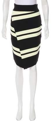 A.L.C. Asymmetrical Knee-Length Skirt