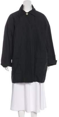 J Brand Woven Knee-Length Coat