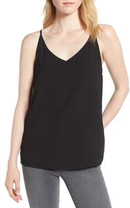 1 STATE 1.STATE Spaghetti Strap Lattice Back Tank
