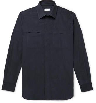 Brioni Cotton-Corduroy Shirt - Midnight blue