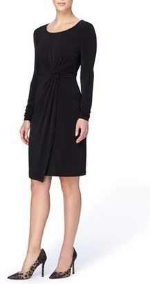 Women's Catherine Catherine Malandrino 'Adele' Twist Front Sheath Dress $118 thestylecure.com