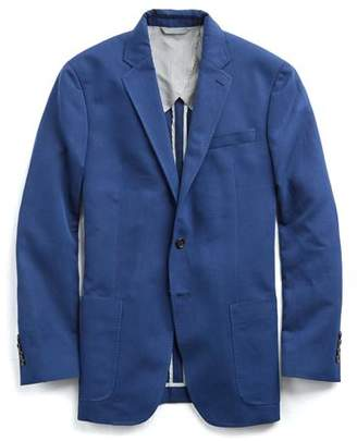 Todd Snyder White Label Sutton Unconstructed Cotton Sport Coat in Medium Blue