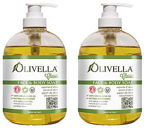 Olivella Liquid Soap Duo with Pump Dispensers