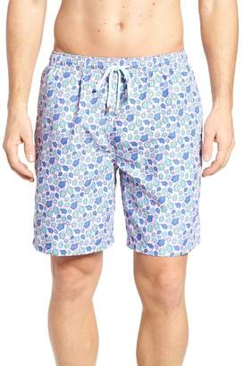 Peter Millar Shelly Turtle Print Swim Shorts