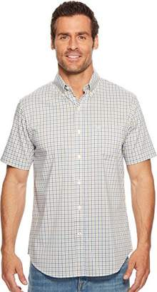 Dockers Short Sleeve No Wrinkle Comfort Stretch Button-Front Shirt