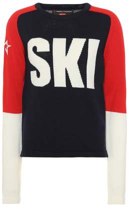 Perfect Moment Ski wool sweater