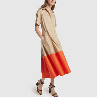 Lee Mathews Elsie Short Sleeve Shirtdress