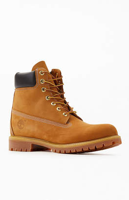 Timberland Brown Premium Waterproof Leather Boots