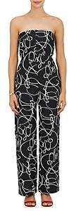 Zero Maria Cornejo WOMEN'S PIA ABSTRACT-PATTERN JACQUARD JUMPSUIT