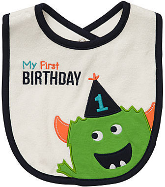 Carter's My First Birthday Bib