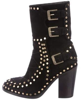 Laurence Dacade Studded Suede Boots