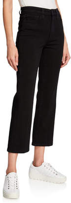 Joe's Jeans The Callie High-Rise Cropped Boot-Cut Jeans