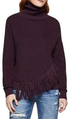 BCBGeneration Asymmetrical Long-Sleeve Sweater