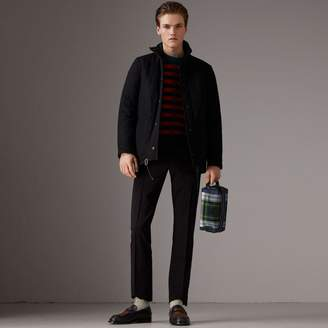 Burberry Reversible Quilted Tartan Cotton Jacket