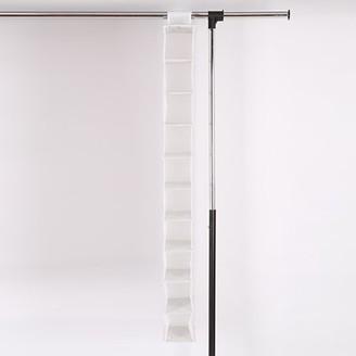 MAINSTAYS Mainstays White Multifunctional Nonwoven 10-Shelf Closet Organizer, 4 Count