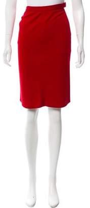 Sonia Rykiel Wool Pencil Skirt