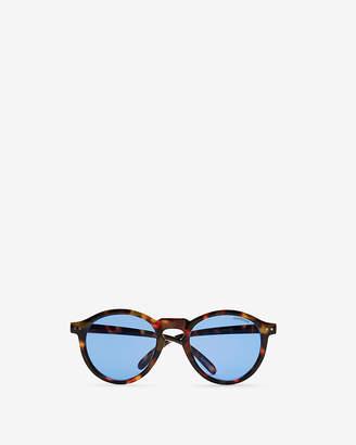 Express Purple Lens Tortoiseshell Frame Sunglasses