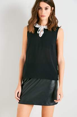 Jack Wills Henfield Lace Collar Shell Top