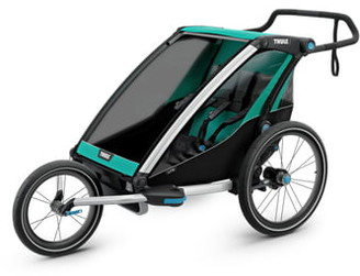 Thule 2019 Chariot Lite 2 Multisport Double Cycle Trailer/Stroller