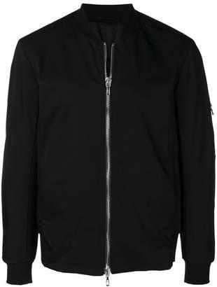 Attachment zipped lightweight jacket
