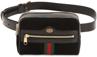Gucci Ophidia Suede Belt Pack