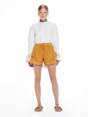 Scotch & Soda Silk-Cotton Shorts