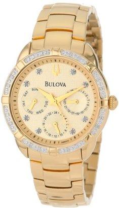 Bulova Diamond Multi-Function Champagne 98R171