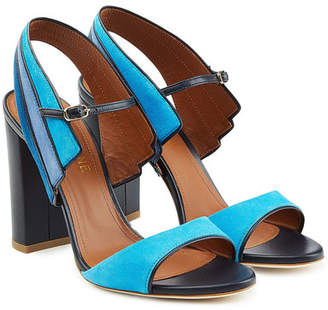 Malone Souliers Suede and Leather Sandals