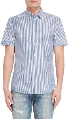 Desigual Tropical Stripe Regular Fit Shirt