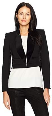 Just Cavalli Women's Cropped Blazer