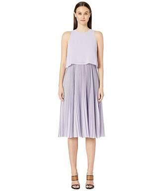 Jason Wu Textured Chiffon Overlay Dress