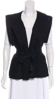 Isabel Marant Textured Tie Vest