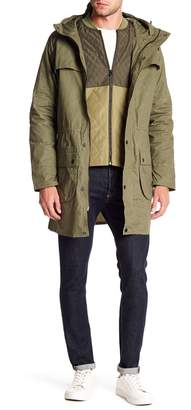 Scotch & Soda 2-In-1 Washed Parka Jacket