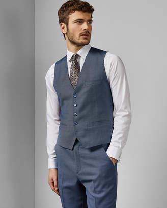 d23d44d61a90 Ted Baker BEKDEBW Debonair birdseye wool waistcoat