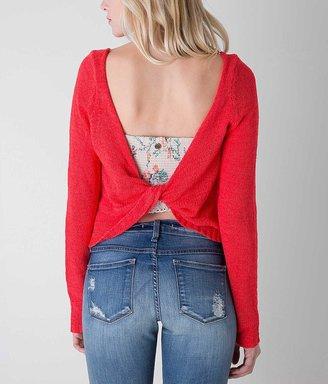 En Crème Open Weave Sweater $36.95 thestylecure.com