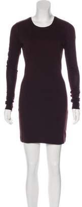 Kimberly Ovitz Long Sleeve Mini Dress