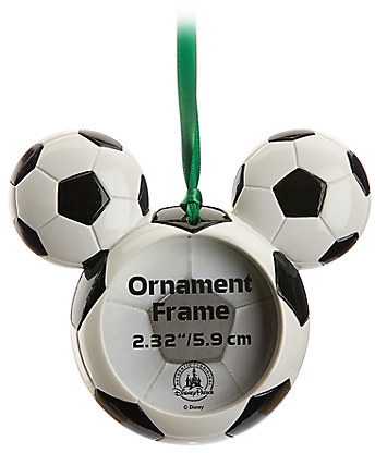 Mickey Mouse Icon Soccer Ball Ornament Frame