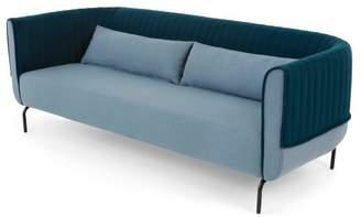 Pigeon Bienno 3 seater sofa, Blue and Petrol Teal