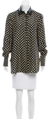 Belstaff Polka Dot Button-Up Top