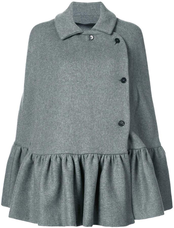 MSGM flared coat