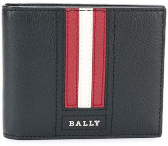 Bally Tarrish stripe detail billfold wallet